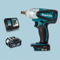Toptopdeal Makita DTW251Z 18V LXT 1 2 Impact Wrench Drive & 1 x 5 Ah Battery Charger