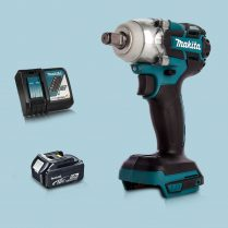 Toptopdeal Makita DTW285Z 18V LXT BL 1 2 Impact Wrench & 1 x 5 Ah Battery Charger