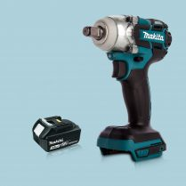 Toptopdeal Makita DTW285Z 18V LXT Cordless BL 1 2″ Impact Wrench & 1 x 3 Ah Battery