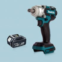 Toptopdeal Makita DTW285Z 18V LXT Cordless BL 1 2″ Impact Wrench & 1 x 5 Ah Battery