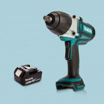 Toptopdeal Makita DTW450Z 18V LXT 12″ High Torque Impact Wrench & 1 x 5.0Ah Battery