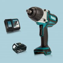 Toptopdeal Makita DTW450Z 18V LXT 12″ Torque Impact Wrench & 1 x 3.Ah Battery Charger