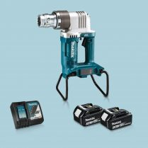 Toptopdeal-Makita DWT310ZK 36V LXT BL Shear Wrench & 2 x 3 Ah Battery Charger In Case
