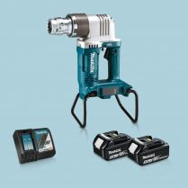 Toptopdeal-Makita DWT310ZK 36V LXT BL Shear Wrench & 2 x 5 Ah Battery Charger In Case
