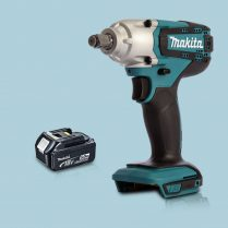 Totpopdeal Makita DTW190Z 18V LXT Li Ion 1 2″ Square Impact Wrench 1 x 5 Ah Battery