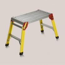 Toptopdeal Excel 600 x 300mm Fibreglass Folding Hop Up Heavy Duty Platform Work Bench