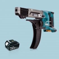 toptopdeal Makita DFR550Z LXT 18V Cordless Auto Feed Screwdriver & 1 x 3-0Ah Battery
