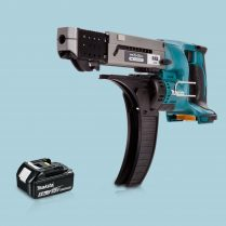 toptopdeal Makita DFR550Z LXT 18V Cordless Auto Feed Screwdriver & 1 x 5-0Ah Battery