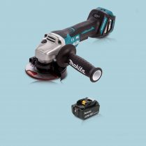 Toptopdeal Makita DGA467Z 18V LXT Cordless BL 115mm Angle Grinder & 1 x 5.0Ah Battery