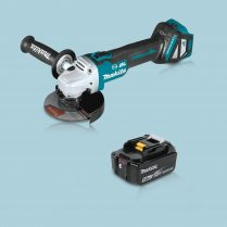 Toptopdeal Makita DGA513Z 18V LXT Cordless BL 125mm Angle Grinder & 1 x 5.0Ah Battery