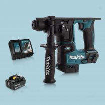 Toptopdeal Makita DHR171Z 18V SDS+ BL 17mm R.Hammer Drill & 1 x 5.0Ah Battery Charger