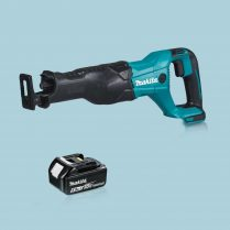 toptopdeal Makita DJR186Z 18V LXT Cordless Reciprocating Sabre Saw & 1 x 5-0Ah Battery