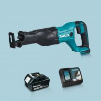 toptopdeal Makita DJR186Z 18V LXT Reciprocating Sabre Saw & 1 x 3-0Ah Battery Charger
