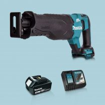 toptopdeal Makita DJR187Z 18V LXT BL Reciprocating Saw & 1 x 3-0Ah Battery Charger
