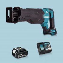 toptopdeal Makita DJR187Z 18V LXT BL Reciprocating Saw & 1 x 5-0Ah Battery Charger