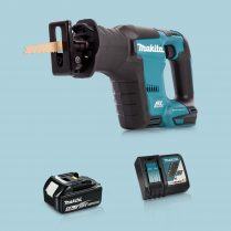 toptopdeal Makita DJR188Z 18V LXT Li BL Reciprocating Saw & 1 x 5-0Ah Battery Charger