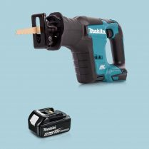 toptopdeal Makita DJR188Z 18V LXT Li Cordless BL Reciprocating Saw & 1 x 5-0Ah Battery
