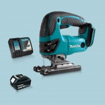 Toptopdeal Makita DJV180Z 18V LXT Cordless Compact Jigsaw & 1 x 3.0Ah Battery Charger