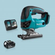 Toptopdeal Makita DJV180Z 18V LXT Cordless Compact Jigsaw & 1 x 5.0Ah Battery Charger
