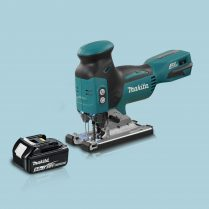 toptopdeal Makita DJV181Z 18v LXT Cordless Barrel Grip BL Jigsaw 1 x 5 0Ah Battery