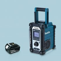 toptopdeal-Makita-DMR107-10-8V-18V-LXT---CXT-AM-FM-Job-Site-Radio-&-1-x-3-0Ah-Battery