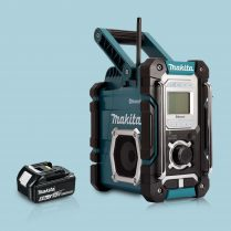 toptopdeal Makita DMR108 18V LXT -CXT Job Site Radio Bluetooth & 1 x 5-0Ah Battery