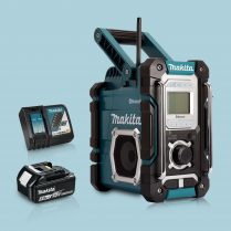 toptopdeal Makita DMR108 LXT -CXT Job Site Radio Bluetooth & 1 x 5-Ah Battery Charger