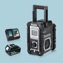 toptopdeal Makita DMR108B LXT -CXT Job Site Radio Bluetooth & 1 x 3-Ah Battery Charger