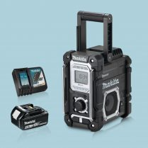 toptopdeal Makita DMR108B LXT -CXT Job Site Radio Bluetooth & 1 x 5-Ah Battery Charger