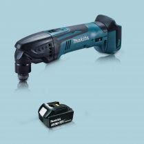 toptopdeal Makita DTM50Z 18V LXT Li Oscillating Multi Tool Cutter & 1 x 3 0Ah Battery