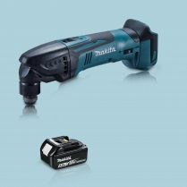 toptopdeal Makita DTM50Z 18V LXT Li Oscillating Multi Tool Cutter & 1 x 5 0Ah Battery