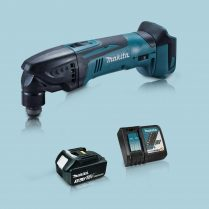 toptopdeal Makita DTM50Z 18V Oscillating Multi Tool Cutter 1 x 3 0Ah Battery Charger