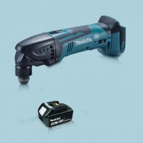 toptopdeal Makita DTM51Z 18V LXT Li Oscillating Multi Tool Cutter & 1 x 3-0Ah Battery
