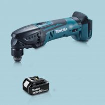 toptopdeal Makita DTM51Z 18V LXT Li Oscillating Multi Tool Cutter 1 x 5 0Ah Battery