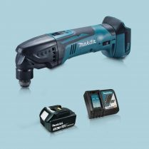 toptopdeal Makita DTM51Z 18V Oscillating Multi Tool Cutter & 1 x 3-0Ah Battery Charger
