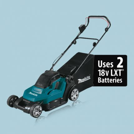 toptopdeal-makita-DLM432-18V-X2-LXT-Cordless-430mm-(17-)-2-in-1-Lawn-Mower