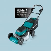 Toptopdeal Makita DLM532 18Vx2 Brushless 530mm 21″ Metal Deck Self-Propelled Lawn Mower