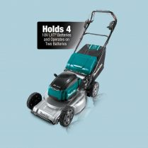 Toptopdeal Makita DLM533 18Vx2 Brushless 530mm 21″ Aluminium Deck Self-Propelled Lawn Mower