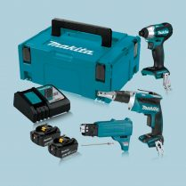 toptopdeal-makita-DLX2264TJ1-18V-LXT-Brushless-Screwdriver-and-Autofeed-attachment-5-0Ah-Kit