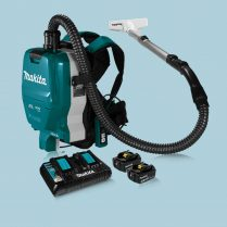 toptopdeal makita DVC261GX13 18Vx2 Cordless 32mm Brushless Backpack HEPA Vacuum (6 0Ah) Kit