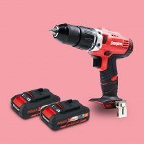 Toptopdeal-co-uk Energizer EZPP18V2B2A Combi Hammer Drill 18V Cordless 58Nm With 2 X 2 Ah Battery