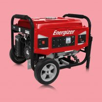 Toptopdeal Energizer EZG3000 Petrol / Gasoline Frame Generator Construction Sites 3000W 2700W - AVR system