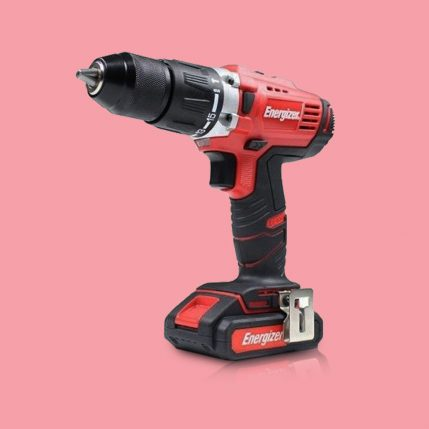 Toptopdeal Energizer EZPP18V2B2A Combi Hammer Drill 18V Cordless 58Nm with 2 x 2.0Ah Battery