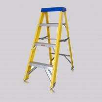 Excel 0-78M Professional Aluminium Atlas Ladder 4 Treads Heavy Duty EX4TREAD