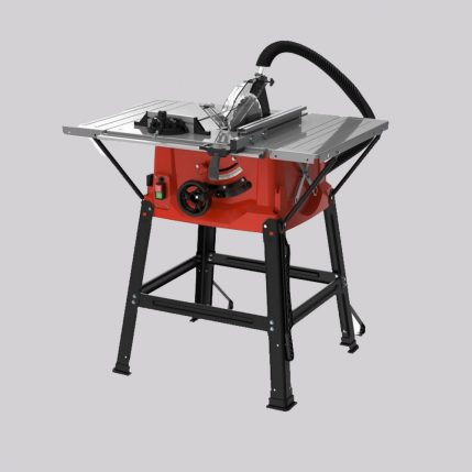 Excel 250mm Table Saw 1800W Straight Cuts with Two Extension Tables 240V