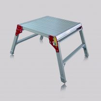 Excel 600mm x 600mm Aluminium Hop Up Heavy Duty Work Platform EXC600HP