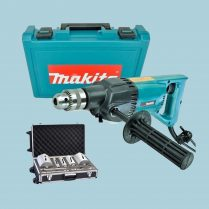 Toptopdeal Makita 8406 13mm Diamond Core Drill & 11 Piece Diamond Core Drill Bit 110V