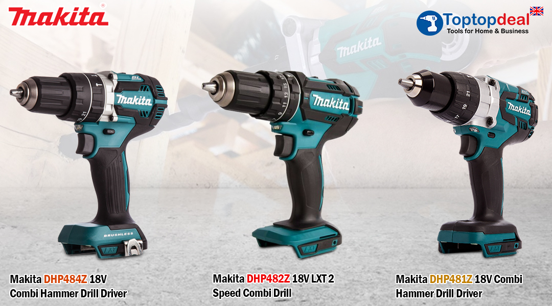 Makita Combi Drills Add Versatility And Performance. Toptopdeal topdeal