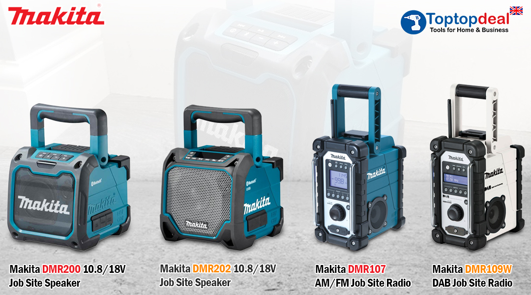 Makita's Radio, featuring DAB and Bluetooth Toptopdeal topdeal