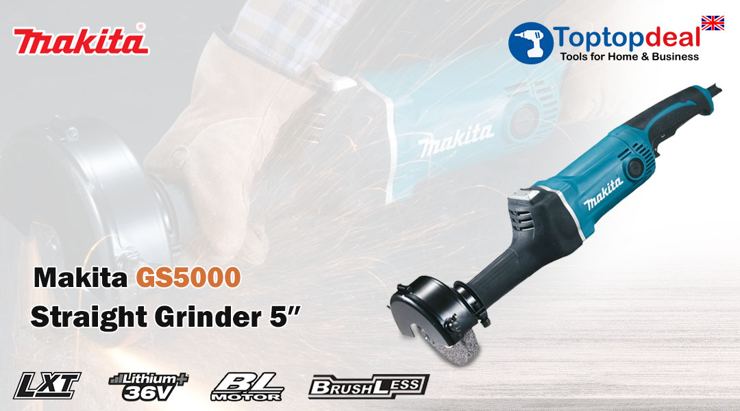 Toptopdeal- Makita Straight Grinder